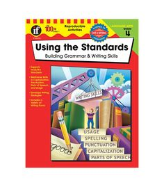 A top-selling teacher resource line, The 100+ Series™ features over 100 reproducible activities in each book!  The Using the Standards&#8212Building Grammar and Writing Skills was developed to help students achieve the goals outlined in the IRA/NCTE Standards for the English Language. These standards encompass all types of language skills&#8212reading, writing, speaking, listening, viewing, and visually representing. Since this book focuses on grammar and writing, it emphasizes the standa…