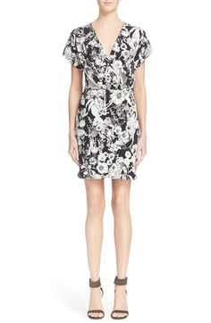 Roberto Cavalli 'Astro Garden' Floral Print Dress $1,090.00  #Reviews #classic #ClothingSale