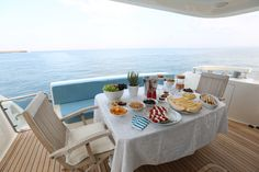 GAFFE is a luxury motor yacht available for charter in Italy, Naples, Sicily, built in Luxury accommodation is for 9 guests in 4 cabins! Book a yacht charter now with Contact Yachts! Motor Yacht, Luxury Accommodation, Outdoor Furniture Sets, Outdoor Decor, Yachts, Naples, Sicily, Cabin, Sea
