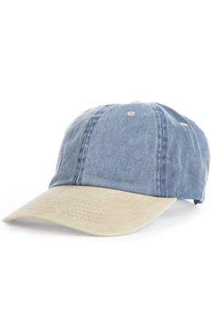 9a0bc0ddb8a KLP The 2 Tone Acid Wash Dad Hat in Blue Khaki