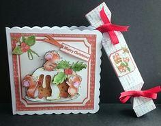 7x7 Christmice pudding mini kit on Craftsuprint - View Now!