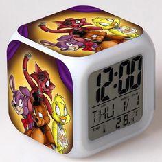 Back To Search Resultstoys & Hobbies The Legend Of Zelda Digital Alarm Clock 3d Game Action Figure Toys 7 Color Led Nightlight Cube Desktop Clock For Kids Gift