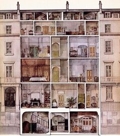 The Servant's Quarters in 19th Century Country Houses Like Downton Abbey | Jane Austen's World