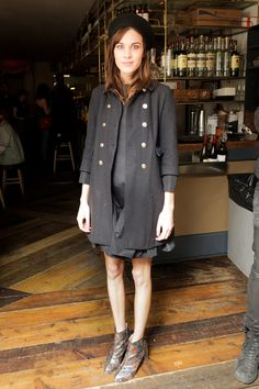 i want a beret now! alexa chung