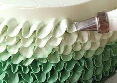 Buttercream Ruffle Cake Tutorial « Canadian Family