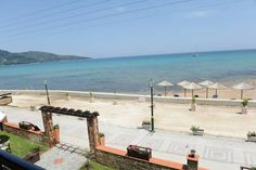 Kamelia Hotel Skála Potamiás Kamelia Hotel is set within a lovely garden right across the beach, in Skala Potamias. It offers rooms with balcony enjoying views to the sea or the surrounding mountains and serves certified Greek breakfast in the morning.