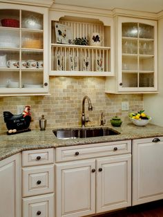 Off White Kitchen Backsplash travertine tile backsplash ideas with neat inspiration | for the