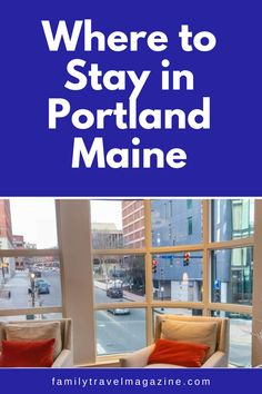 Guests visiting the fun city of Portland Maine have a lot of lodging options. Read about the best places to stay in Portland Maine, including our reviews of some of the best Portland hotels.