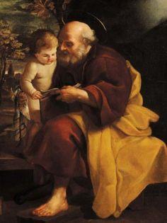 Emilio Savonanzi (1580-1609): San José y el Niño.