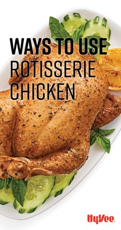 Discover 10 fast (and fun) ways to use rotisserie chicken. New Recipes, Recipies, Cooking Recipes, Healthy Recipes, Healthy Low Calorie Meals, Low Calorie Recipes, Recipes Using Rotisserie Chicken, Chicken Recipes, Chicken And Biscuits