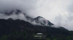 Making our way through the Austrian mountains.