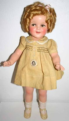My Shirley Temple Composition Doll Collection 22inch