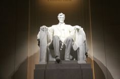 The Lincoln Memorial, so awesome in person