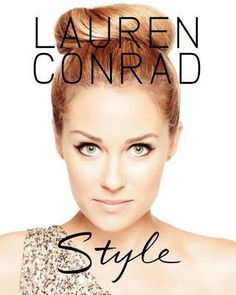 Book: Lauren Conrad Style (a little small for the coffee table but the price is right so I'm going to use this as a coffee table book...)