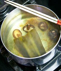 Kombu, Shiitake & Bonito Dashi (noodle broth) - Unseasoned #recipe