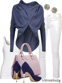 """No. 202 - Blue & purple"" by hbhamburg on Polyvore"