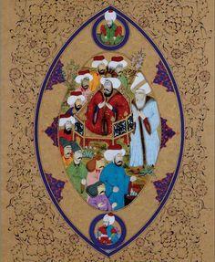 Osmanlı'da minyatür sanatı...