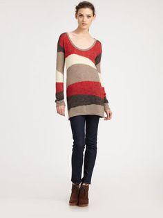 Ella Moss Rhapsody Sweater Tunic - Lyst