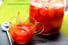 photo of healthy tea - Yahoo! Search Results  daiquiri fruit stevia and green tea  recipe  teabeyond.blogspot.com