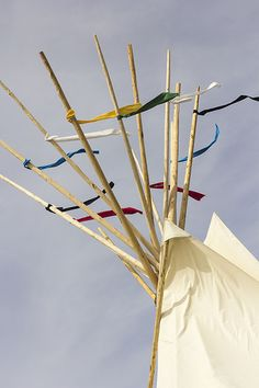 South Dakota Tipi Camp, Rosebud Sioux Nation, South Dakota, Rose Buds, Nebraska, America, Usa