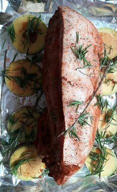 Lomo de puerco con calabaza #pork #tungasuk