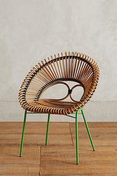 Downstairs Apartment: Desk Chair. Looping Apasra Chair - anthropologie.com