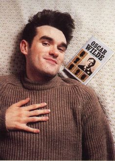 Morrissey (1984) ― photo by Tom Sheehan.