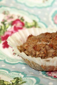Muffins: päron/PB