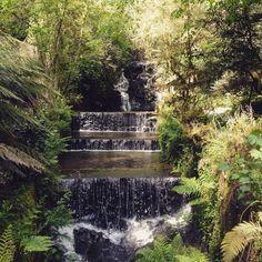 Cascada artificial, Santa Cruz de Rivadulla