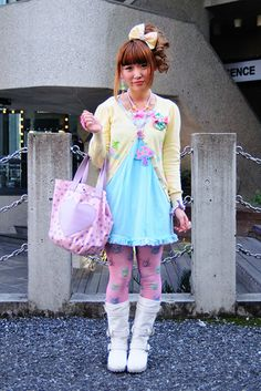 Adorable, with a quirky charm! (as fairy kei usually seems to convey.) ♥