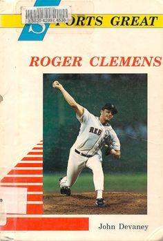 Sports Great Roger Clemens - John Devaney - 1990 - Vintage Book