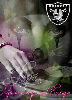 Music is my sweet Escape Lipz Creationz