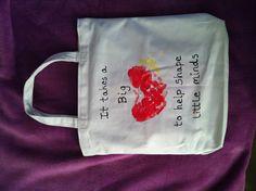 Great Teacher Gift!!  Fabric paint on canvas bag.