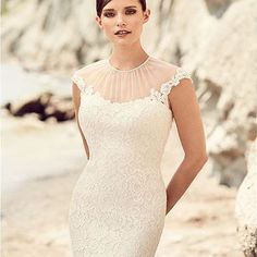 Alluring and elegant is @mikaellabridal bridal designs! #Mikaella