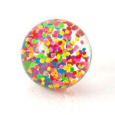 Crystal Bouncy Ball Rainbow Tornado