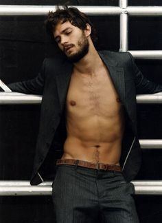 Jamie Dornan....wow, that expression is killing me.