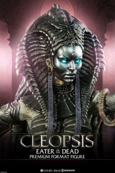 Court of the Dead - Cleopsis: Eater of the Dead Premium Format Statue