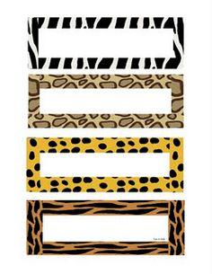 Wild about K Kids: Fun Jungle Theme Schedule Cards Animal Print Classroom, Jungle Theme Classroom, Classroom Themes, Classroom Organization, Forest Classroom, Classroom Displays, Classroom Management, Safari Party, Safari Theme