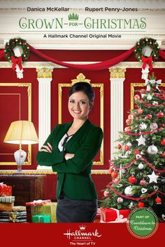 It's a Wonderful Movie - Your Guide to Family Movies on TV: Hallmark's 'Crown For Christmas' starring Danica McKellar and Rupert Penry Jones Best Hallmark Christmas Movies, Xmas Movies, Family Christmas Movies, Family Movies, Holiday Movies, Christmas Cartoons, Christmas Poster, Top Movies, Watch Movies