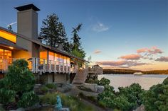 $2.75M Puget Sound Waterfront Home Assures Total Serenity - House of the Day - Curbed National