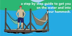How To Build your own Hammock Raft!  This looks like too much fun...just dreaming of relaxing on the water :)
