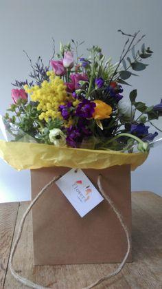 Spring Bouquets- Anemones & Ranunculus Anemones, Ranunculus, Spring Bouquet, Spring Flowers, Bouquets, Burlap, Reusable Tote Bags, Tableware, Kids