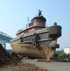 Old Tugboats