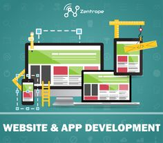 Website & App Development #zentrope #facebook #instagram #twitter #pinterest #youtube #yelp #googleplus #snapchat #wechat #webdevelopment #website #web #webdeveloper #webdesigner #webdesign #appdeveloper #appdesigner #appdevelopment #app #ios #android #development #outsourcing