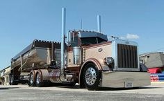 day cab Peterbilt