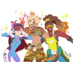 n0rara: ✨ BFF ✨ I want them to hang together and do fun stuff!
