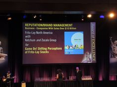 Frito-Lay (*client) and Ketchum with the Silver Anvil award win!