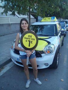 hora-voy de la setmana VERONICA ANADON! #hoyvoy #autoescuela #mataro