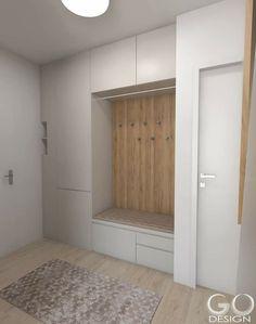 (notitle) - dgs - #dgs #notitle Hallway Closet, Entry Hallway, Home Interior Design, Interior Architecture, Wardrobe Door Designs, Apartment Entrance, Hall Design, Modern Kitchen Design, Mudroom