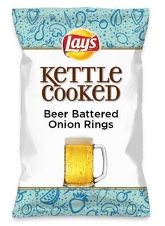 Wouldn't Beer Battered Onion Rings be yummy as a chip? Lay's Do Us A Flavor is back, and the search is on for the yummiest chip idea. Create one using your favorite flavors from around the country and you could win $1 million! https://www.dousaflavor.com See Rules.